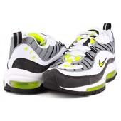 Nike Air Max 98 Homme,Noir Blanche Or Nike Air Max 98 Homme Chaussure