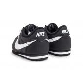 Nike Cortez enfants,Nike Cortez Nylon bébé noire Chaussures Toutes les baskets