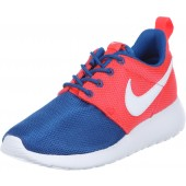 Nike Roshe Run enfants,Roshe One Youth GS chaussures enfants bleu rouge