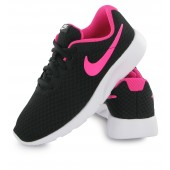 Nike Tanjun enfants,Nike Tanjun Junior Noir Et Rose, 818385 061