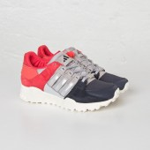 adidas eqt femme,Femme Adidas EQT Support 93 Night Gris/Granite/Bright Rouge
