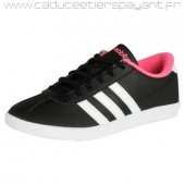 adidas neo daily team femme,Noires/Rose Femme Adidas Neo VL Neo Court Trainers France