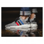 adidas nmd r1 homme,Chaussure Adidas Nmd Homme R1 PK Tri Color Blanc et Noir Adidas