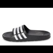 adidas sandals enfants,adidas Duramo Slide Noire Et Blanche Sandales Enfant | Aushopping