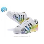 adidas superstar enfants,Nouveau icielle Boutique Adidas Superstar II Fierté Pack Noir