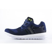 adidas y3 femme,Femme Homme Adidas Y 3 Primeknit Pure Boost ZG Marine/Vert/Noir