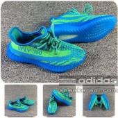 adidas yeezy 350 v2 enfants,Nouveau Chaussures Enfant Adidas Yeezy Boost 350 V2 Bleu/Vert