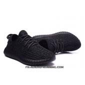 adidas yeezy boost 350 homme,2016 Adidas Yeezy Boost 350 Homme Tout Noir Basketball Chaussures