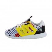 adidas zx 500 femme,B26725] Adidas ZX 500 2 Blanc Femme Baskets basses