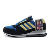 adidas zx 500 homme,Adidas NEO zx 500 Homme suede navy jaune bleu 54020708