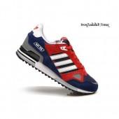 adidas zx 750 homme,Bleu marine Rouge Blanc Adidas Originals ZX 750 Homme Chaussures