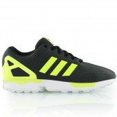 adidas zx flux femme,Homme Basket Adidas Originals ZX Flux noir & jaune fluo & blanc