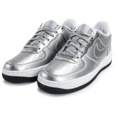 nike air force 1 enfants,Nike Air Force 1 SE Silver Pack Chaussures Toutes les baskets