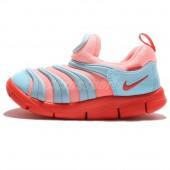 nike dynamo free,Nike Dynamo Free TD Toddler Baby Blue Lava Glow Prewalkers Shoes