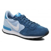nike internationalist enfants,Nike Wmns Nike Internationalist (Bleu) Baskets chez Sarenza (215913)