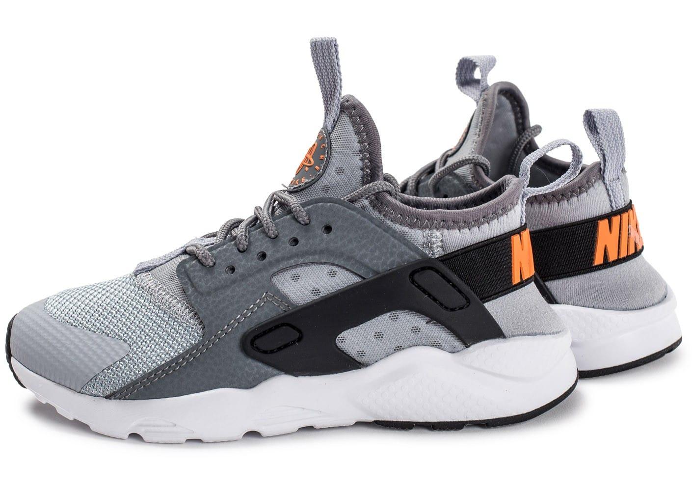 quality design 82337 c757d Nike Air Huarache enfants, Chaussures Nike Huarache Run Ultra Enfant grise  et noire