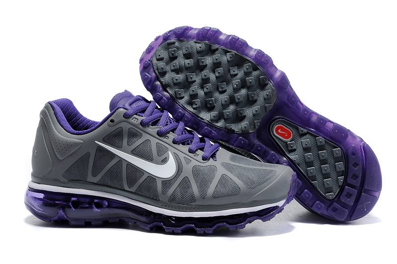 Nike Air Max 2011 Femme, Femme Nike Air Max 2012 Violet Gris Blanc,chaussures homme pas  cher,chaussures pas