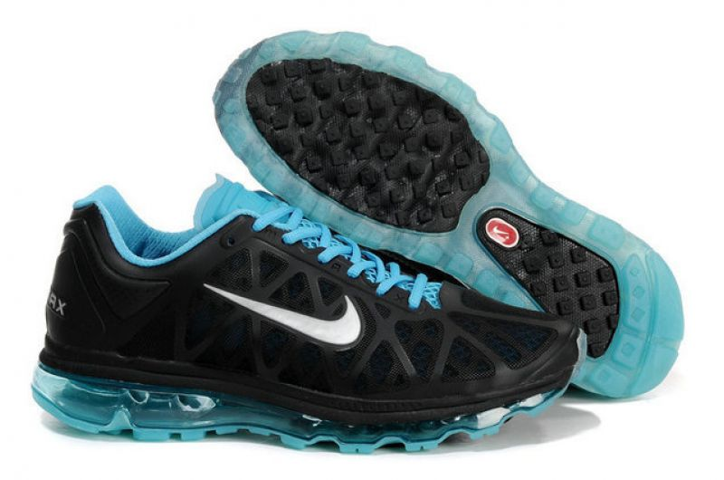 Nike Air Max 2011 Femme, ... femmes nike air max 2011 blanc and noir ...