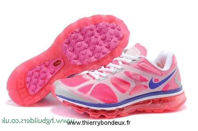 Nike Air Max 2012 Femme, Fournis Chaussures Rose Blanc Nike Air Max 2012 Femmes Steelblue Femme  ZBL30577