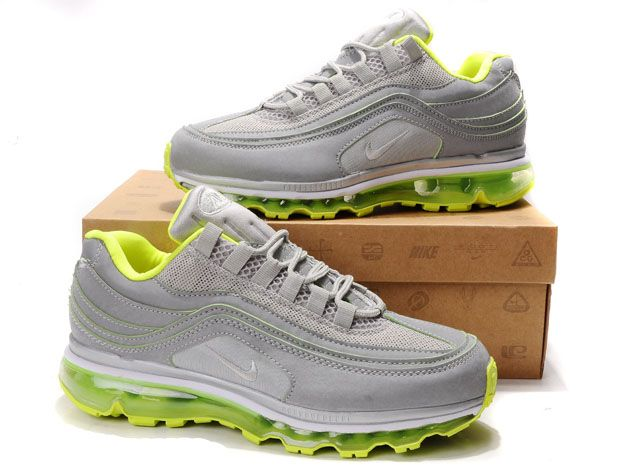 Nike Air Max 24-7 Homme, Nike Air Max 24-7 Gris Vert Noir Chaussures Homme,soldes chaussures,grande  ...