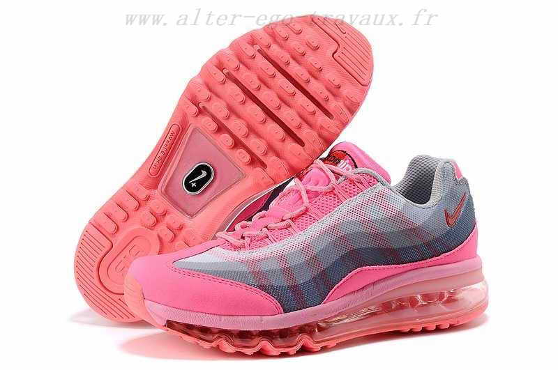 Nike Air Max 95-360 Femme, Femme re236385 chaussures nike air max 95 360 rose,nike air,de super  promotions disponibles