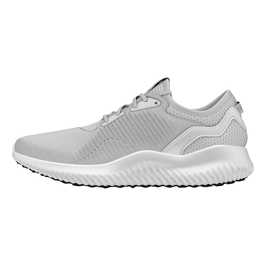 adidas alphabounce femme, ... Chaussures adidas Alphabounce Lux gris blanc femme ...