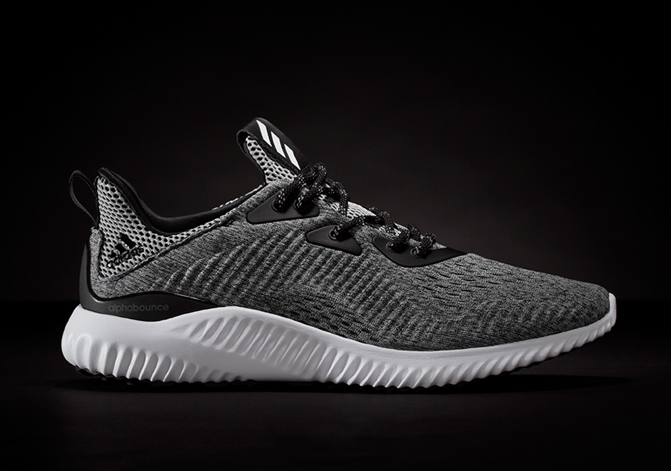 adidas alphabounce homme, Adidas Alphabounce ENGINEERED MESH Grise