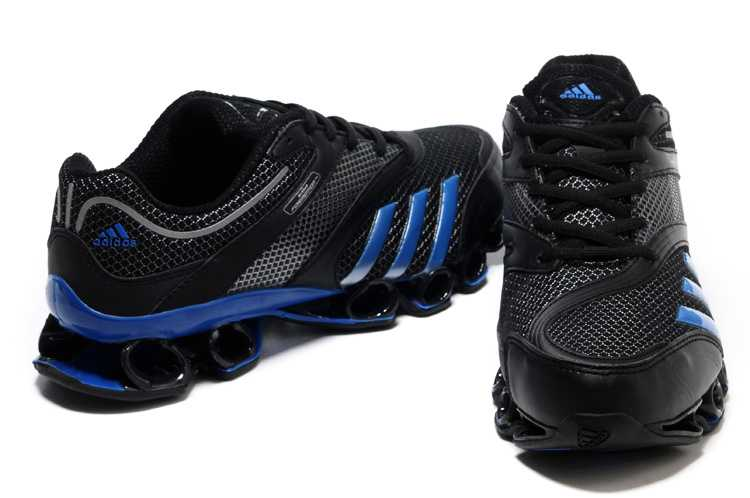 adidas bounce homme, 2014 Top Design Adidas Bounce Titan 3rd III Third Men Black Royalblue  Running Shoes outlet sale