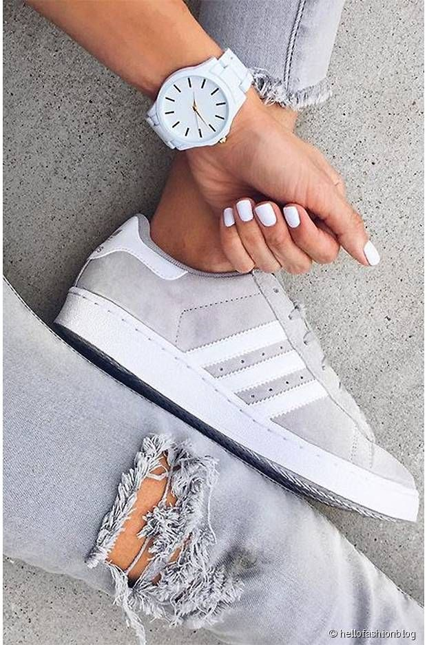 adidas gazelle femme, Adidas Gazelles sneakers watch Grey