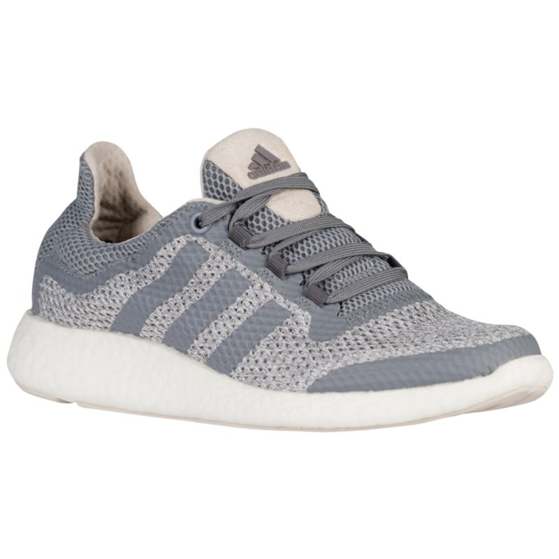 adidas pure boost femme, Chaussure Adidas Pure Boost Running Femme Gris Marron