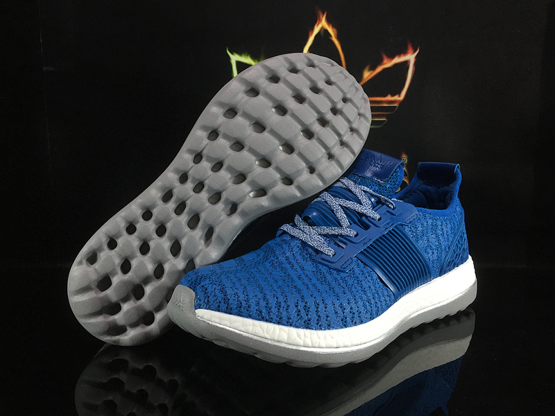adidas pure boost homme, ... Best-Vente Adidas Pure Boost Zero Gravity Homme Bleu Blanc & CL80745 ...