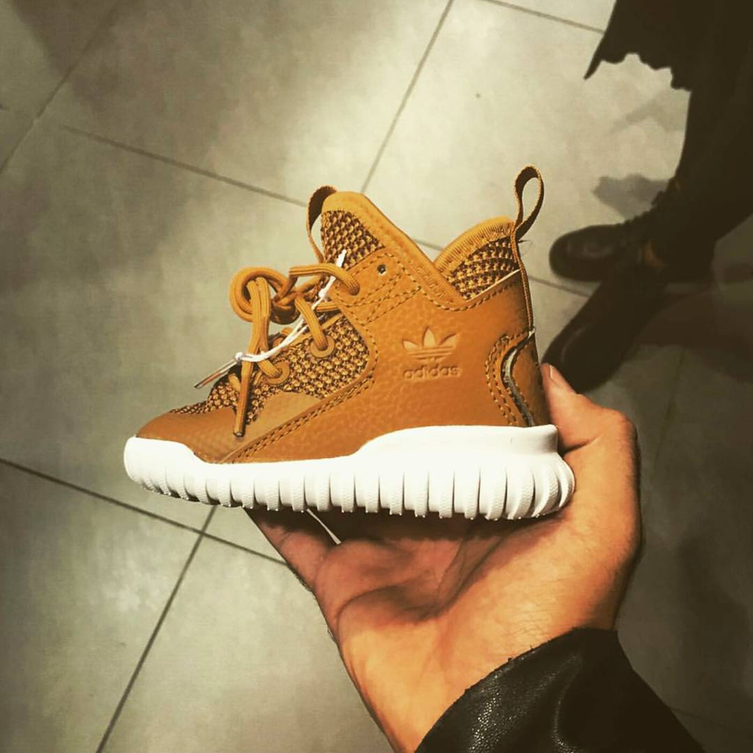 adidas tubular marron enfant