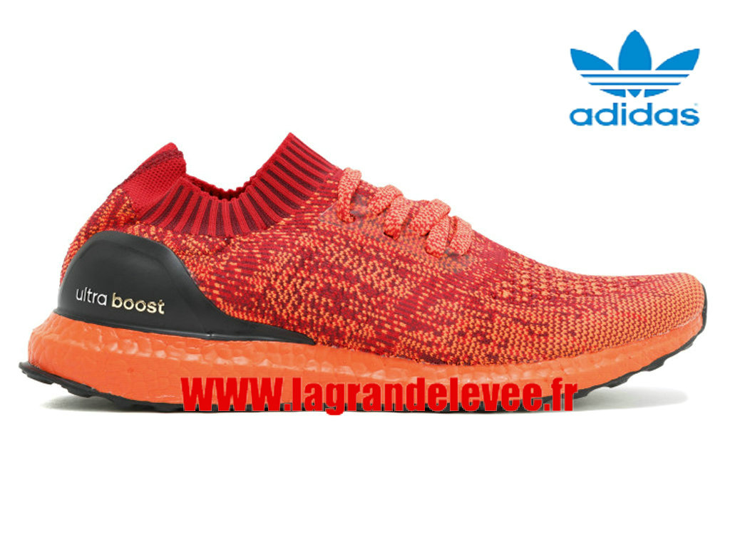 adidas ultra boost uncaged femme, Adidas Ultra Boost Uncaged Ltd - Chaussures Homme/Femme Rouge/Noir bb4678