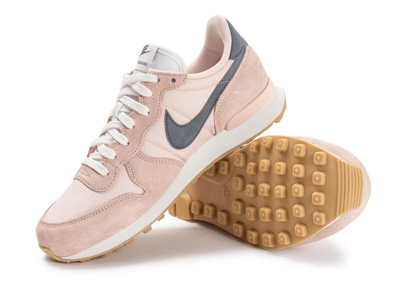 competitive price 28588 e6ddd ... nike internationalist enfants,Nike Internationalist W rose pâle  Chaussures Femme Chausport ...